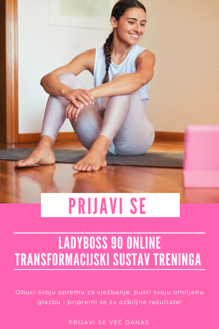 LadyBoss 90 - Online trening za žene